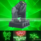 1W green or 2w rgb full color moving head laser light