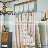 Modern type of office window cotton curtain                                                                         Quality Choice
