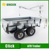 ATV towable camper trailer