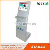 Interactive Touch Screen Queue Management System Kiosk with Printer