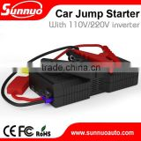 21000mAh Auto power pack portable vehicle multi-function car jump starter battery booster with an inverter                                                                         Quality Choice