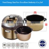 LED Display Fishing Cooers Saety Valves 1 Litre Pressure Cooker