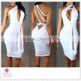 2016 white cheap backless evening sexy women bandage bodycon dress                                                                         Quality Choice