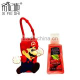 Wholesale Hot Selling Cute Mini Game Figure Antibacterial Gel Hand Sanitizer Holders as Gifts
