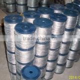Ungalvanized and Galvanized Steel Wire Rope 6x7, 6x19, 6x37, 6x36WS, 6x12+7FC, 6x24+7FC, 8x19S, 19x7, 35Wx7,6X25FI,6X19S,6X15
