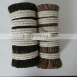 natural animal hair;high quality horse tail hair