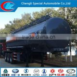 China direct factory chemical tank truck fuel tank truck China brand 3axles oil tanker semi trailer