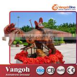 VGR-232 Hot sale amusement park outdoor animatronic ride dinosaur jurassic park 3d dinosaur model