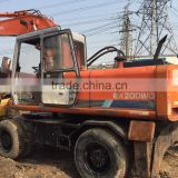 Hitachi EX200WD used wheeled excavator for sale