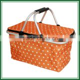 High Quality aluminium frame antique picnic basket