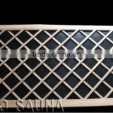 2016 High Quality Nano Carbon Heater Panels with wood frame For Far Infrared Sauna Room (ETL/TUV)