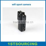 smallest sport wifi camera support Iphone and Andriod phone real time online viewing, new products 2014 MD81s wifi camera