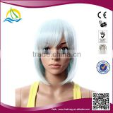 OEM China Factory High Temperature Fiber wholesaler white short hair wig