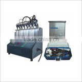High quality INJ-8B fuel Injector testing and cleaning machine from hiashu with low price