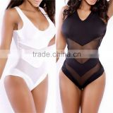 New Sexy Womens Mesh One-Piece Bikini Set Monokini Swimwear Swimsuit Beachwear