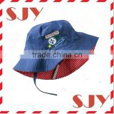 100%polyester uv protection summer baby bucket hats