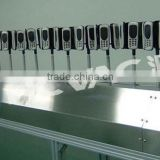 Dust-free and Gun-fixed UV Automatic Spray Painting Line for Tablet PC Vacuum Metallizer