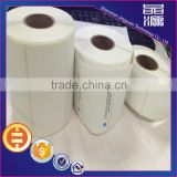 Newest Customized size white roll labels high quality printing barcode self adhseive sticker in stock