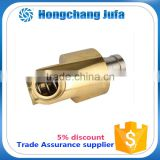 one passage tubing coupling swivel joint,copper pipe fitting swivel joint,water swivel joint for pipe with SS304 flange
