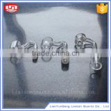 Clear quartz nails-Quartz Honey Hole - male 14mm/18mm Domeless Quartz nail for water pipe bongs