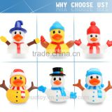 child Christmas gift Cute baby toy Eco-friendly PVC bulk rubber duck