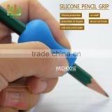 Wholesale kids silicone pencil gripper rubber pencil grip types soft touch Aid children writing
