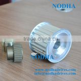 Aluminum timing belt pulley HTD14M