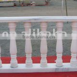 Carved Marble Stair Balustrade