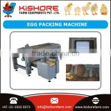 Famous Trader of Optimum Quality Stainless Steel Egg Packing Machine Selling at Lowest Market Rate