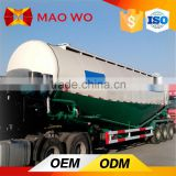 Tri-axle air compressor dry cement tanker, bulk cement trailer