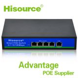 10/100Mbps 4+1 5 port network poe switch