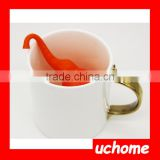 UCHOME Food-Grade Silicone Tea Strainer,Bath Villain, Tea Making Facilities