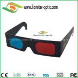 Most popular sell Paper Red cyan 3d glasses with durable cardboard frame
