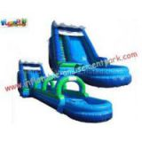 Renting Commercial, Home Backyard PVC tarpaulin Outdoor Inflatable Water Slides for Kids