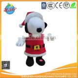 dog stuffed plush toy Christmas toy
