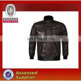 european style jackets for man with oill fabric