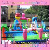 Sale lovely rabbit inflatable fun city playground
