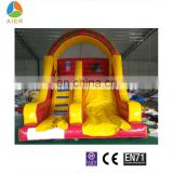 Guangzhou inflatable clown dry slide/cheap inflatable dry slides/inflatable slide for party