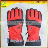 New Design Custom Logo Band Full Finger Skiing Gloves