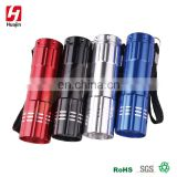 Chrismas promotional gifts handhold mini led flashlight,aluminum torch