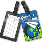 Hot! Novelty Soft PVC Luggage Tag