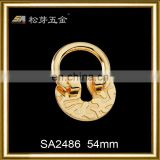 Song A metal High quality popular style key chain purse hook cheap purse hook SA2486