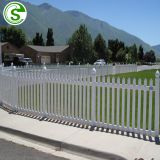 High quality pvc picket fence garden fence pvc white picket fence