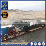 Fine gold recovery vibration shaker table alluvial gold mining equipment