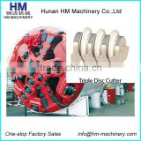Triple Disc Cutter for TBM Machine Roller Disc Cutter For Tunnel Boring Machine