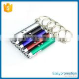 Wholesale aluminum led keychain/printed customer logo key chain                                                                         Quality Choice