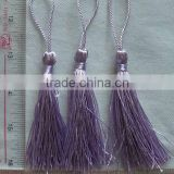 "PURPLE COLOR 3"" TASSEL FRINGE FOR SEW ON CLOTHING OR NOTION ITEMS DECORATION , IN STOCK"
