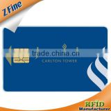 HOT!!!iso smart card cob inlay and chip/credit card size siemens sle4442 ic card manufacturer