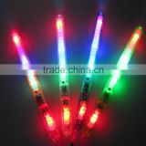Multi Colorful 7 modes Flashing LED Night Light Lamp Wand Glow Sticks Strap Camp Party Festival