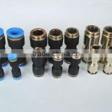 China supplier plastic brass pneumatic connection quick connect pipe fitting